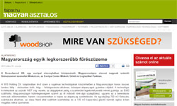 Magyarország egyik legkorszerűbb fűrészüzeme