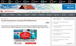 Új fűrészüzemet avattak fel Miskolcon